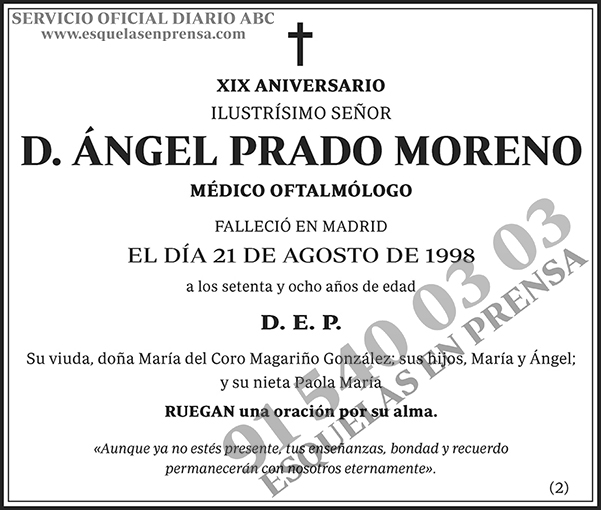 Ángel Prado Moreno